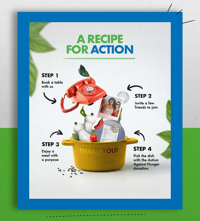action against hunger brand refresh recipe