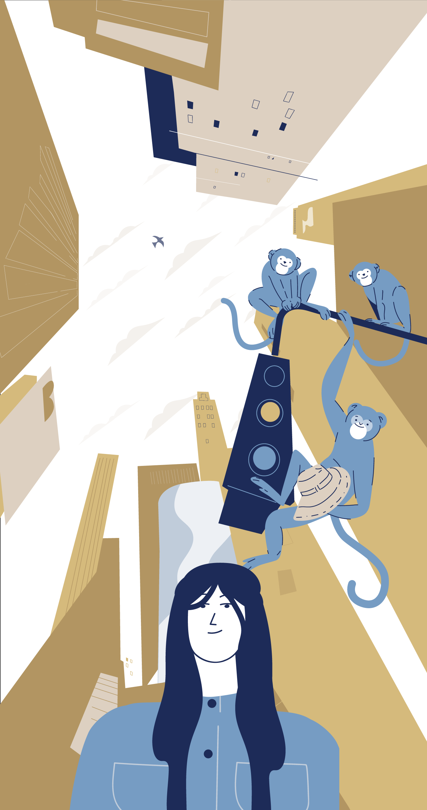 dreamcloud brand storytelling animation image