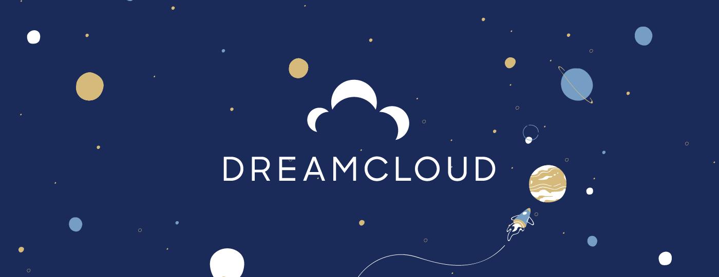 dreamcloud brand storytelling logo