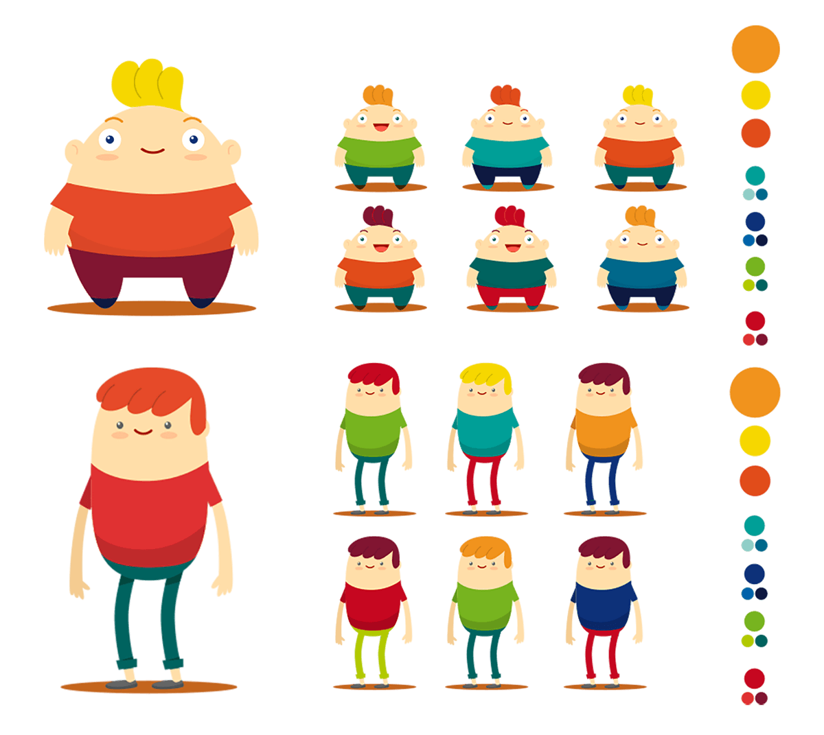 GSK characters