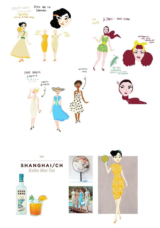 koko kanu brand storytelling image character