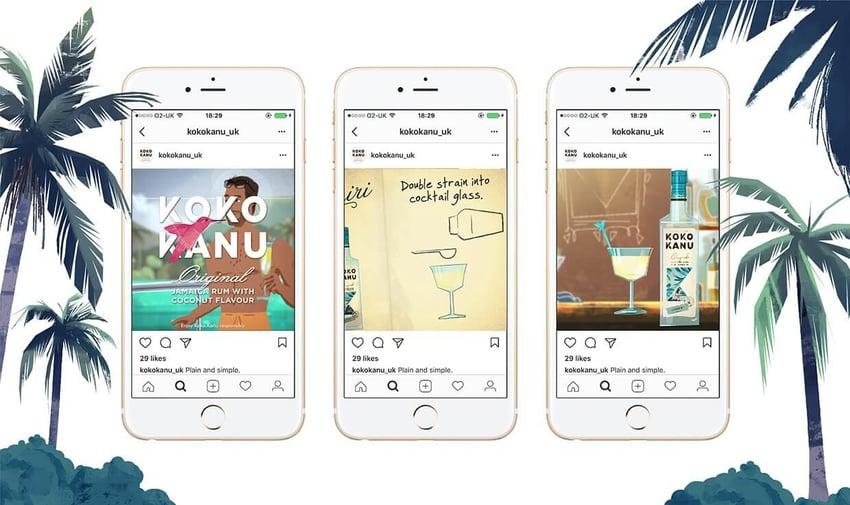 koko kanu brand storytelling image social media