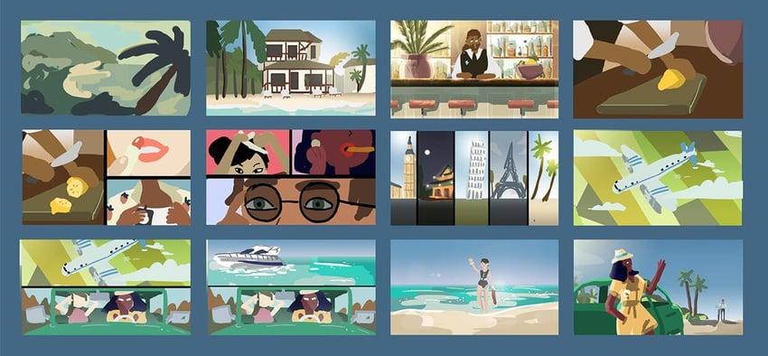 koko kanu brand storytelling storyboard