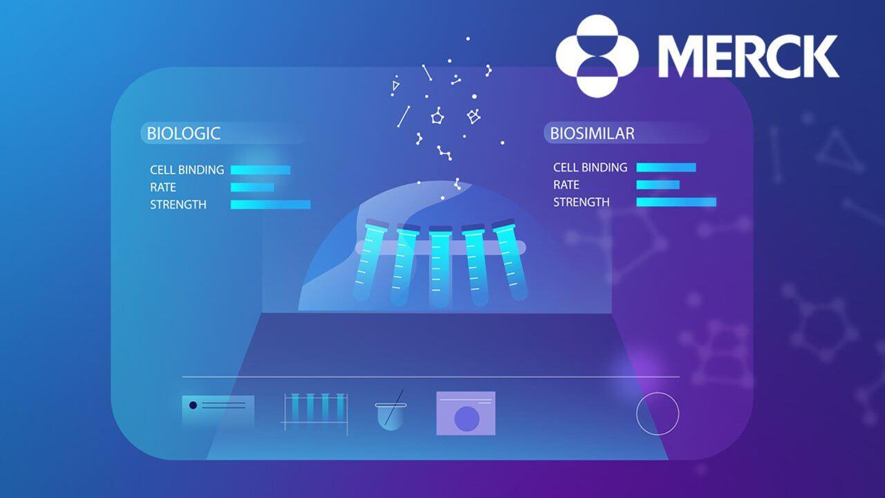 Merck animated campaign image