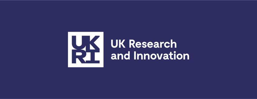 UKRI motion branding logo
