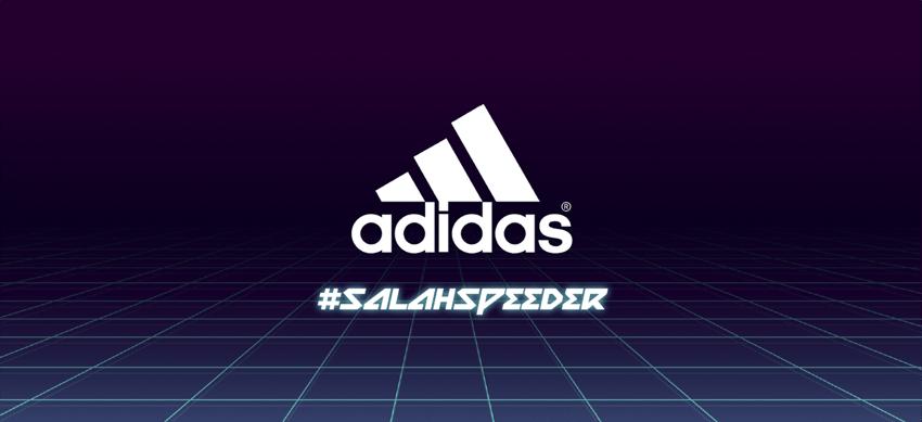adidas interactive content salah speeder