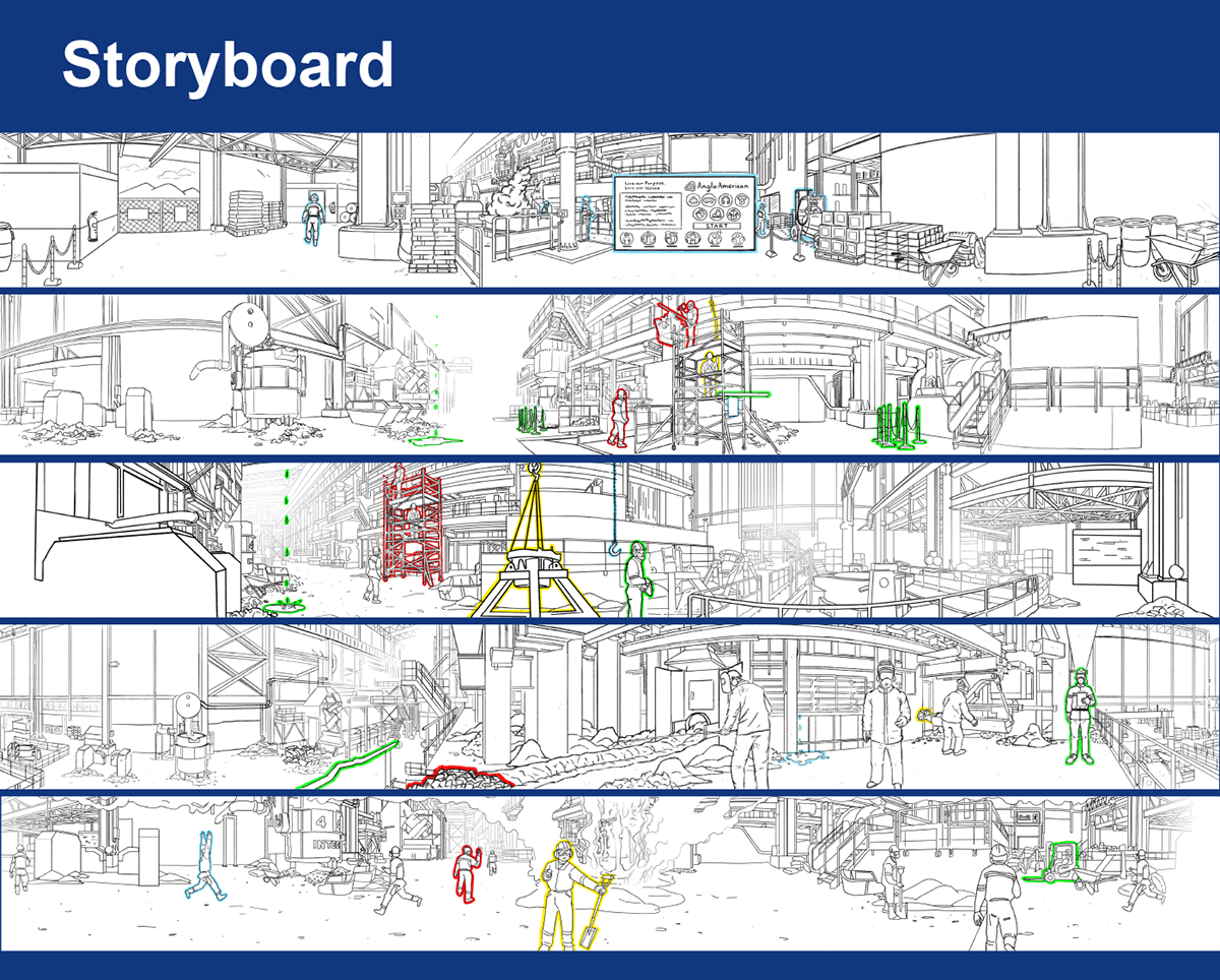 anglo american vr experience storyboard