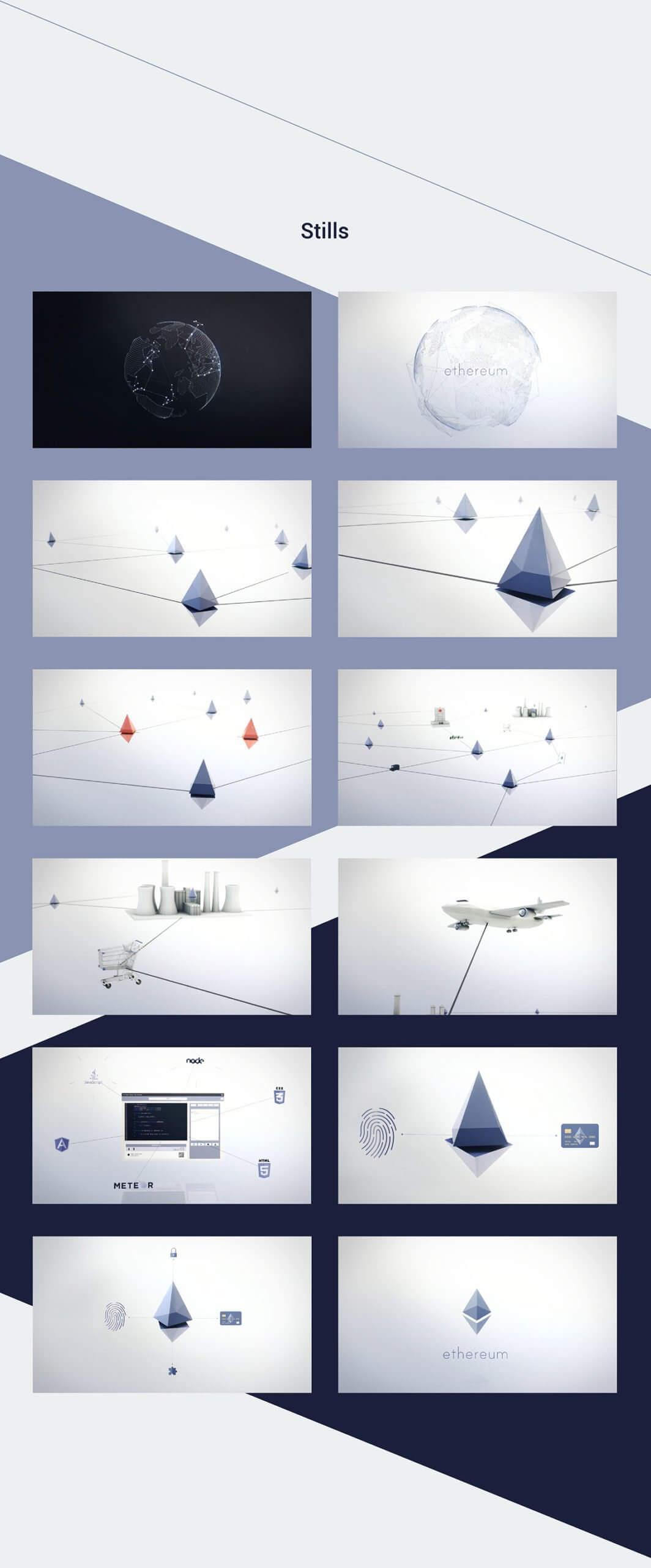 ethereum explainer content stills imagery
