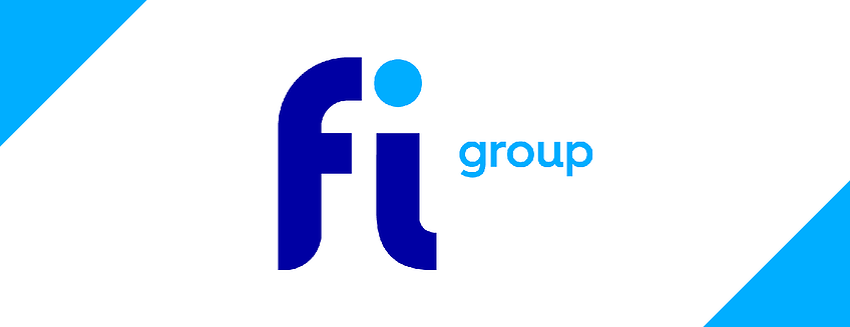 FI group rebrand image logo