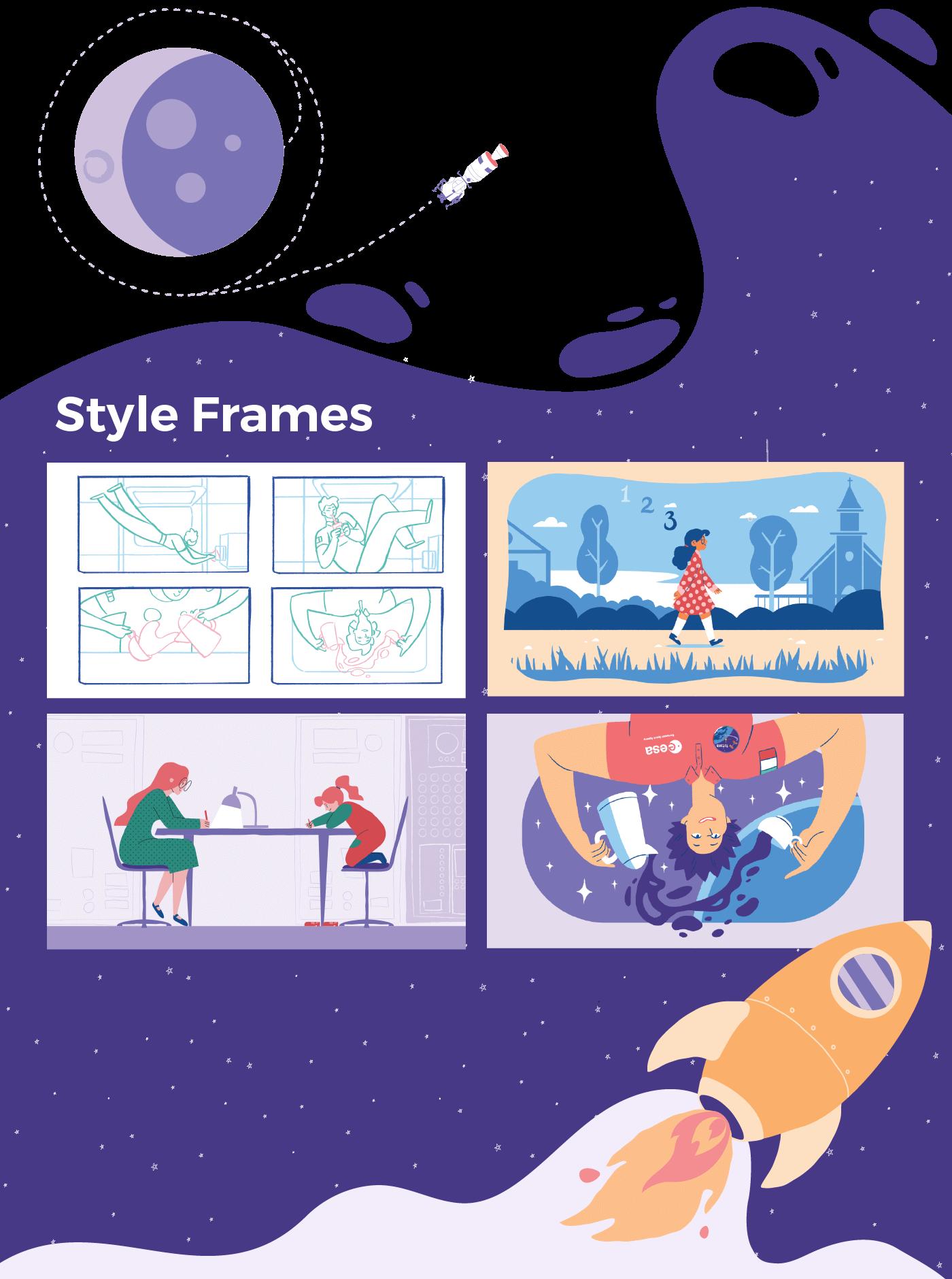 rebel girls brand storytelling style frames