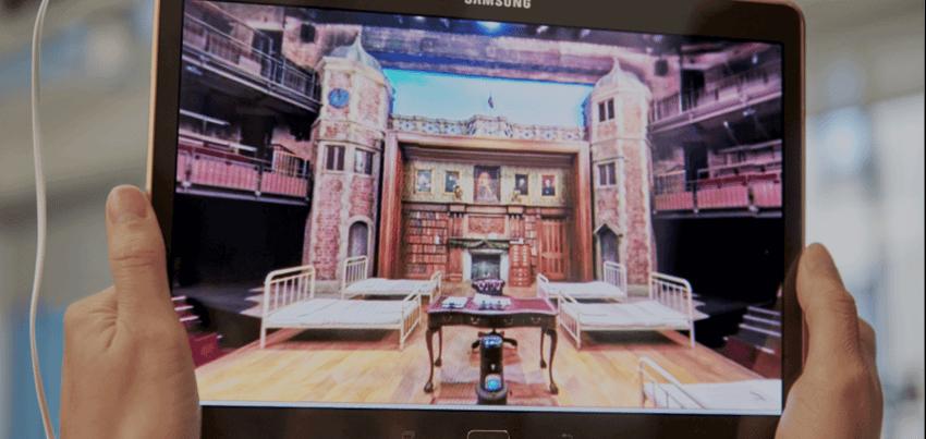 samsung royal shakespeare company interactive experience