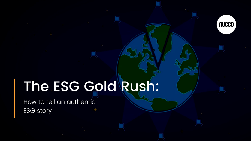 esg gold rush telling an authentic esg story